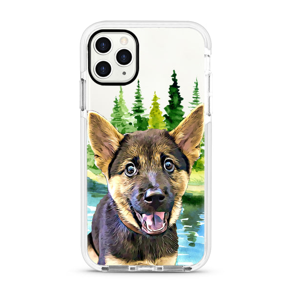 iPhone Ultra-Aseismic Case - Deep Forest 3