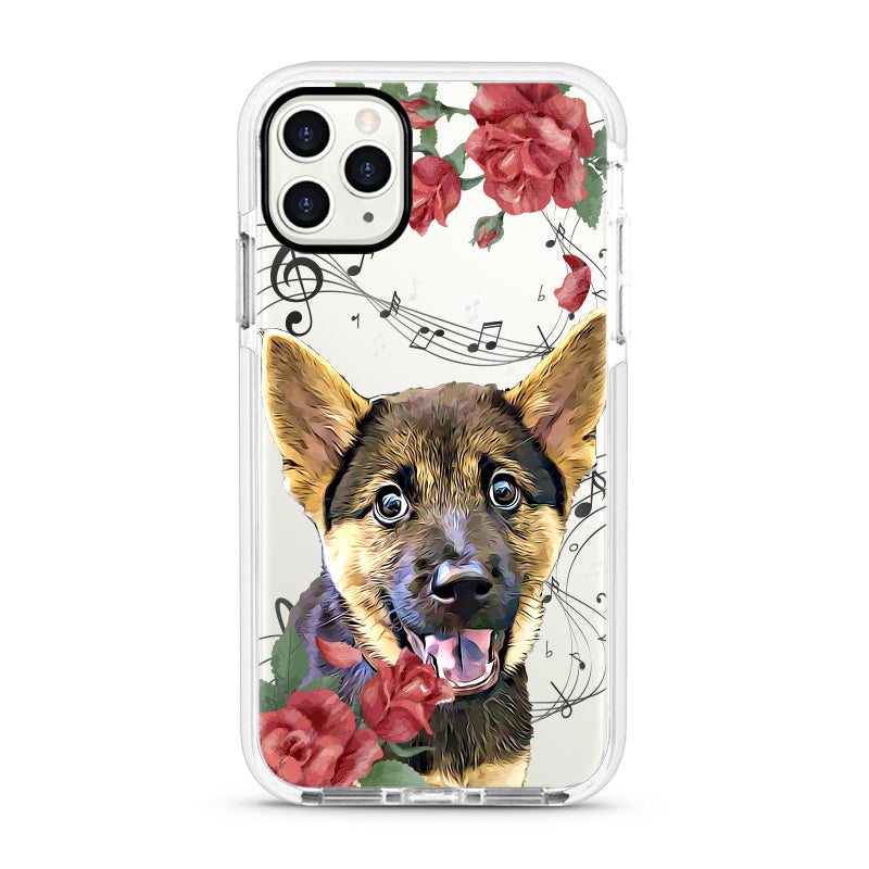 iPhone Ultra-Aseismic Case - Musical Floral