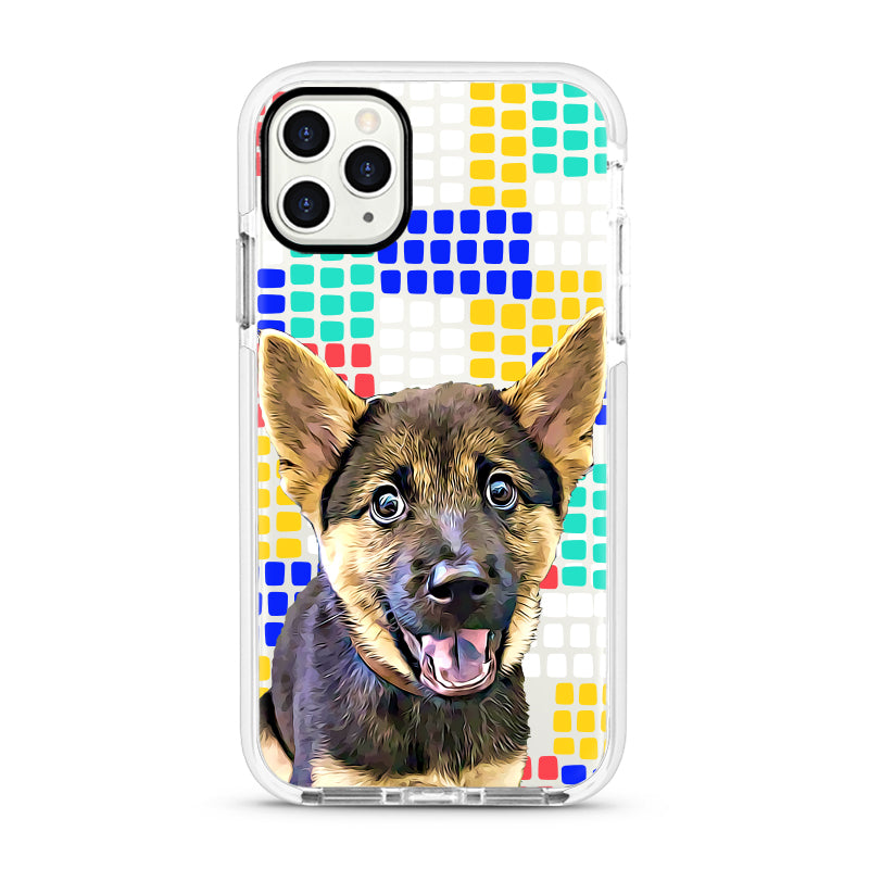 iPhone Ultra-Aseismic Case - Color Bricks