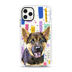 iPhone Ultra-Aseismic Case - Modern Painting 2