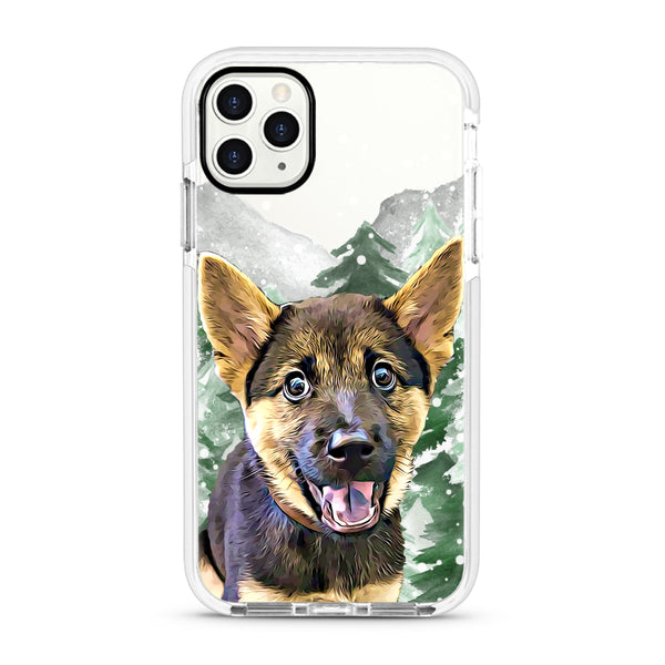 iPhone Ultra-Aseismic Case - Snow Forest 2