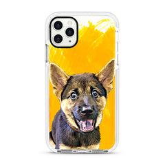 iPhone Ultra-Aseismic Case - Hand Painted Yellow