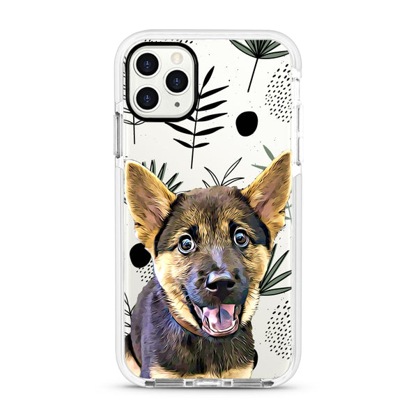 iPhone Ultra-Aseismic Case - Leaves Pattern Design 3