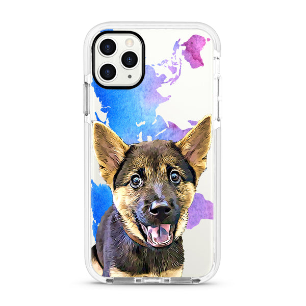 iPhone Ultra-Aseismic Case - Bluple Splash