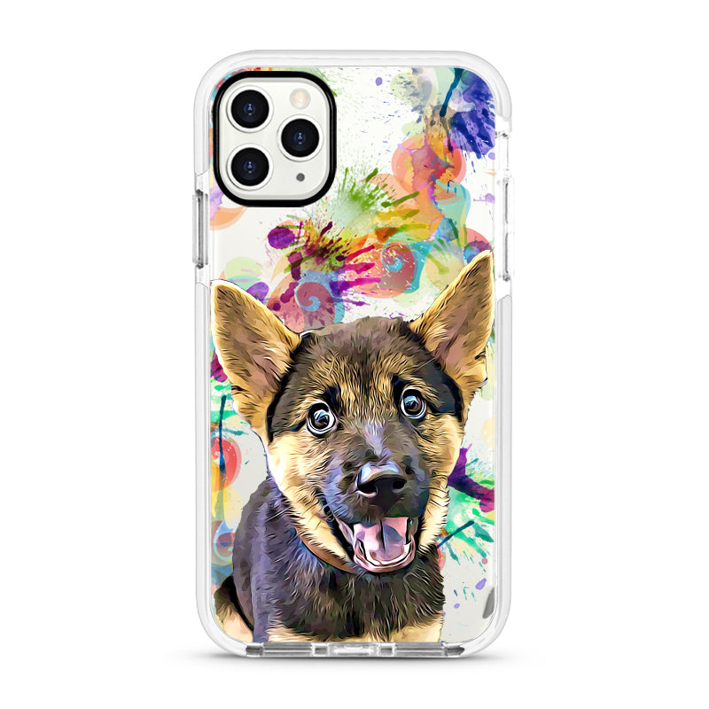 iPhone Ultra-Aseismic Case - Water Color Splash