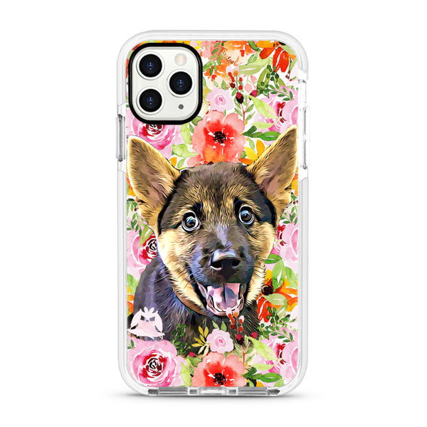 iPhone Ultra-Aseismic Case - Peony Flower Overload
