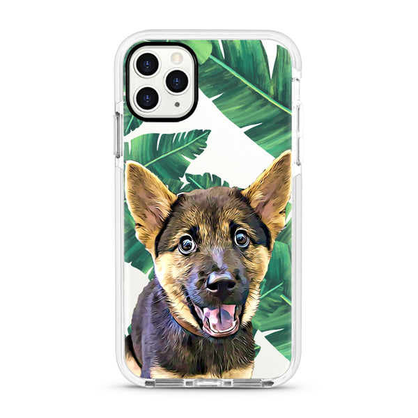 iPhone Ultra-Aseismic Case - Big Leaves
