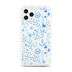 iPhone Aseismic Case - Vintage Blue Floral