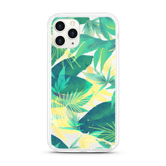 iPhone Aseismic Case - Tropical in Yellow and Green