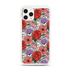 iPhone Aseismic Case - Classic Floral 2