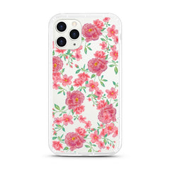 iPhone Aseismic Case - Sweet Watercolor Flowers