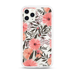 iPhone Aseismic Case - Lilac Pink Floral