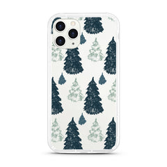 iPhone Aseismic Case - Pine Tree Forest