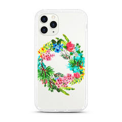 iPhone Aseismic Case - Floral Frame