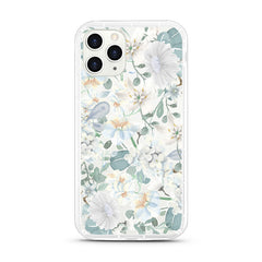 iPhone Aseismic Case - White Floral