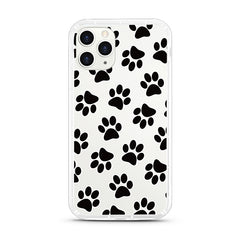 iPhone Aseismic Case - Black Paws
