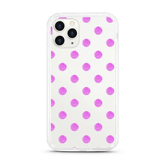 iPhone Aseismic Case - Purple Dots