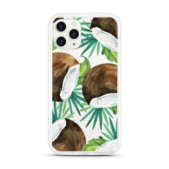 iPhone Aseismic Case - Tropical Summer with Coconuts