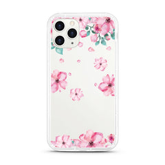 iPhone Aseismic Case - GIrly Pink Flowers