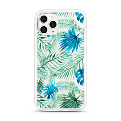 iPhone Aseismic Case - Water Paint Palm Trees
