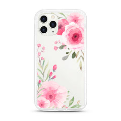iPhone Aseismic Case - Big Pink Flowers