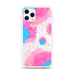 iPhone Aseismic Case - Pink Blue Splash 2
