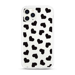 iPhone Aseismic Case - Black Hearts