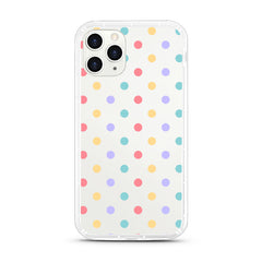 iPhone Aseismic Case - Rainbow Poka Dots