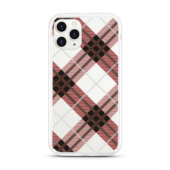 iPhone Aseismic Case - Brown Plaid