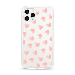 iPhone Aseismic Case - Light Pink Heart