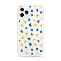 iPhone Aseismic Case - Blue And Yellow Stars