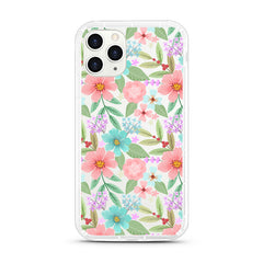 iPhone Aseismic Case - Pastel Floral Bouquet