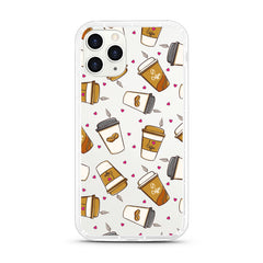 iPhone Aseismic Case - I Love Coffee