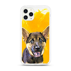 iPhone Aseismic Case - Hand Painted Yellow