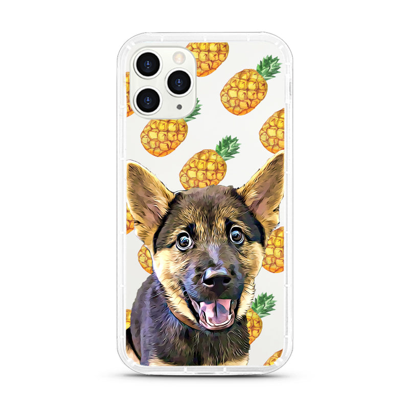 iPhone Aseismic Case - Pineapple 2