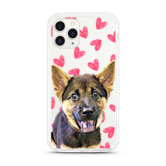 iPhone Aseismic Case - Pretty Hearts Pattern