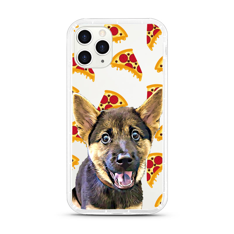 iPhone Aseismic Case - Pepperoni Pizza
