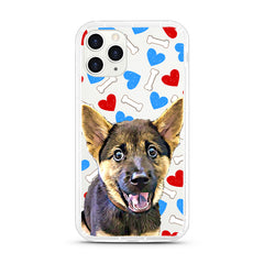iPhone Aseismic Case - Bones With Hearts