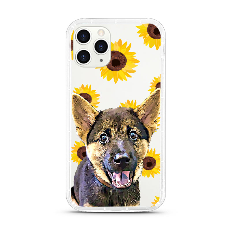 iPhone Aseismic Case - Sunny Sunflowers