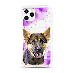 iPhone Aseismic Case - Purple splash
