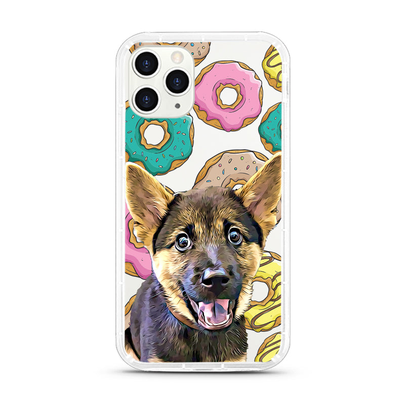 iPhone Aseismic Case - Doughnuts Lover