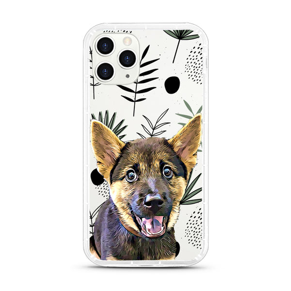 iPhone Aseismic Case - Leaves Pattern Design 3