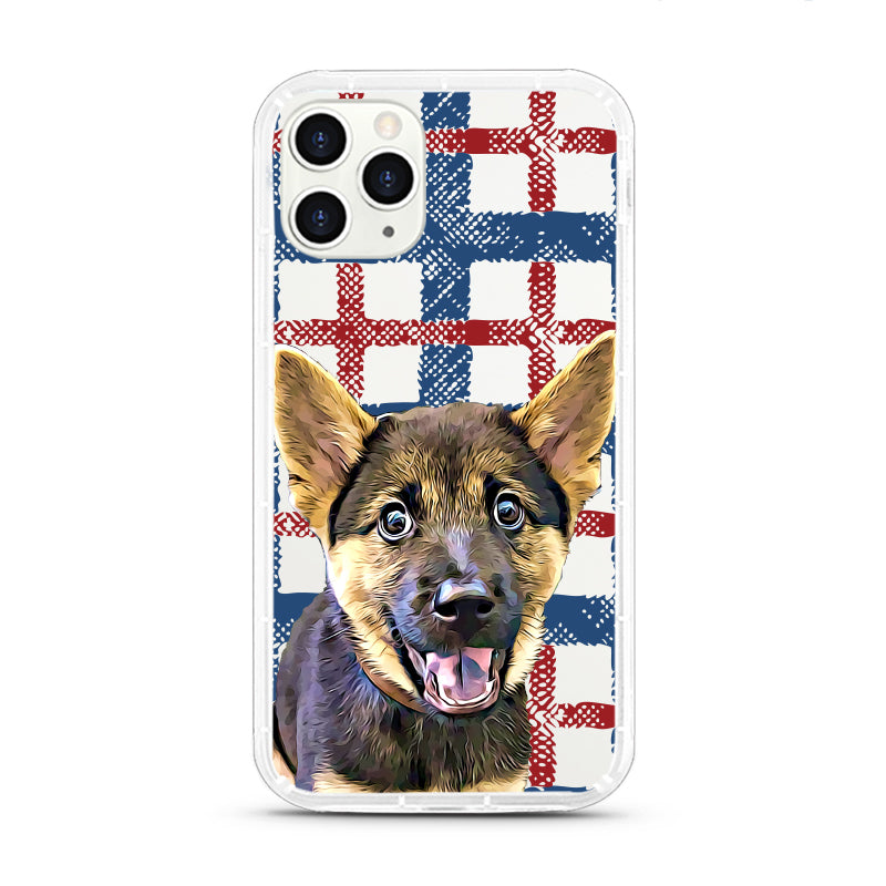 iPhone Aseismic Case - England Checked