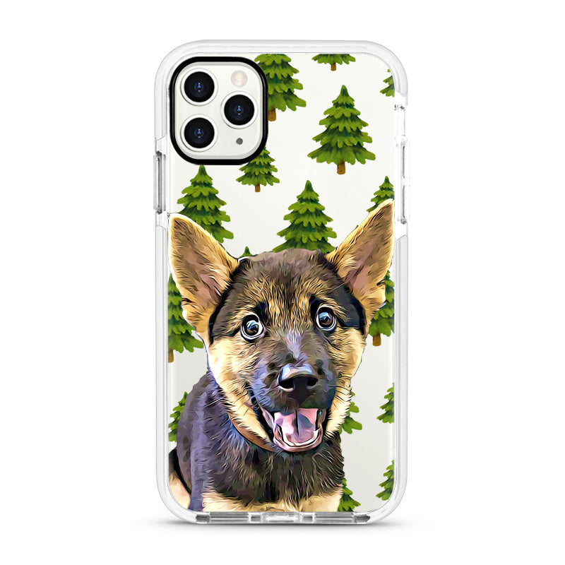 iPhone Ultra-Aseismic Case - Pine Trees
