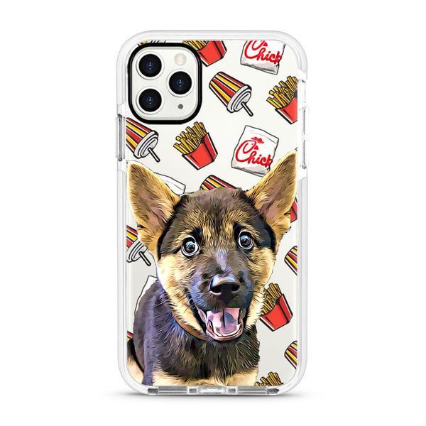 iPhone Ultra-Aseismic Case - Chicken and Fires