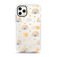 iPhone Ultra-Aseismic Case - Rainbow and stars