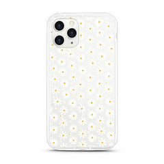 iPhone Aseismic Case - WHITE DAISY 2