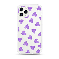 iPhone Aseismic Case - Purple Hearts
