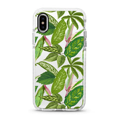 iPhone Ultra-Aseismic Case - Summer Green Leaves