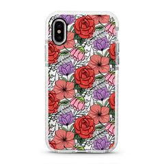 iPhone Ultra-Aseismic Case - Classic Floral 2